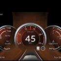 Digital Peterbilt dashboard