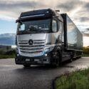 Mercedes Actros on Hydrogen
